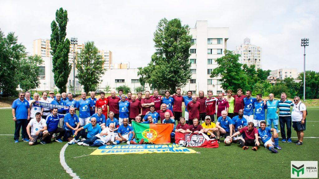 Ucranianos do Sport Club Legion XXI de Kiev vão passar por Alcobaça